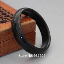 xb629 13-16mm Wide Bian Stone Bianshi Jade Bangle Bracelet for woman and man