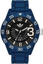 Men's Adidas Newburgh Blue Silicone Strap Watch ADH3141