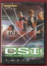 CSI: Crime Scene Investigation - QUARTA STAGIONE vol. 2 - DVD NUOVO NO CELLOPHAN