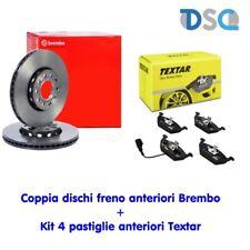2 dischi freno Brembo + 4 Pastiglie Textar anteriori DACIA SANDERO LOGAN REN #bp