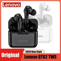 Lenovo Bluetooth 5.0 TWS Wireless Earphones Earbuds QT82 Stereo Headphones