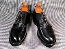 VINTAGE CRADDOCK TERRY BLACK LEATHER OXFORD DRESS SHOES size 9R made in USA