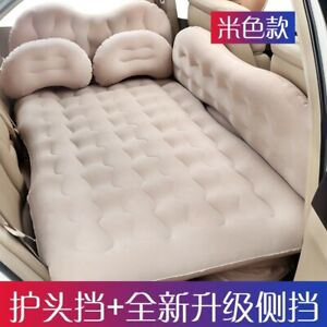 Inflatable Car Back Air Bed Mattress Back Seat Cushion Traveling With 2 Pillows