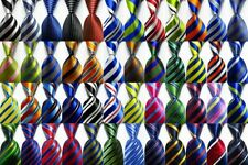 New Classic Ties Striped JACQUARD WOVEN 100% Silk Men's Tie Necktie