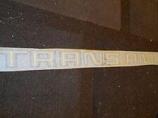 "1970's 1980's PONTIAC FIREBIRD TRANS AM TRUNK DECKLID DECAL 30"" BLACK GOLD YELLO"
