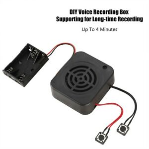3W DIY Voice Recording Box Message Module for Stuffed Animals/Gift/Toy 2/4 MIN