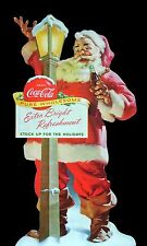Standing Santa Coca Cola High Quality Metal Magnet 3 x 5 inches 9342