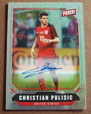CHRISTIAN PULISIC 2018 PANINI NATIONAL AUTOGRAPH AUTO 1/1 ONE of ONE SP USA