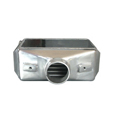 """CXRacing Universal Liquid/Water to Air Intercooler 3"""" Air Inlet Outlet 12X11X4.5"""