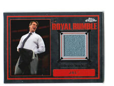 WWE JBL 2014 Topps Chrome Event Used Royal Rumble Mat Relic Card