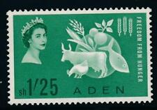 Aden 1963 Freedom from Hunger MNH