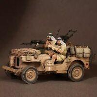 1/35 Resin Figure Model Kit British Desert Patrol Soldiers no car WWII Unpainted