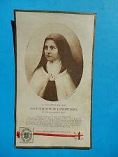 IMAGE PIEUSE RELIQUE RELIC SOEUR THERESE DE L ENFANT JESUS avant 1921