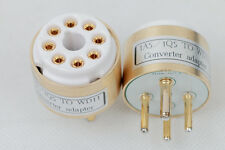 1pc Gold plated 1A5/1Q5 TO WD-11 tube converter adapter