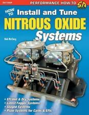 How to Install and Tune Nitrous Oxide Systems Book~NEW! nos zex nx cold fusion