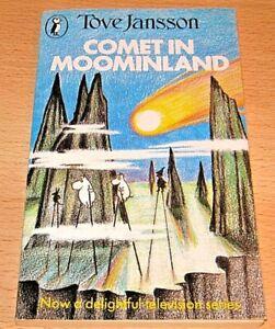 COMET IN MOOMINLAND Paperback Book VGC - The Moomins - Tove Jansson