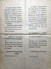 Affiche originale Volontaires polonais Guerre 1939-1945, WW2, Polish Army Poland
