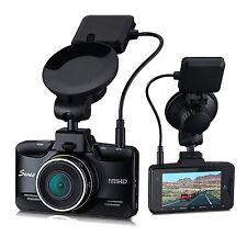 Seneo 1080P HD 170° Wide Angle Black Dash Cam GPS Trace Replay WDR Night Vision