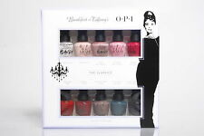 OPI Breakfast at Tiffany's Collection 2016 MINI 10 PACK 100% Authentic