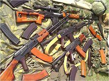 18x24in Russian Assault Rifle Poster  AK47 AKM AK74 7.62x39 Kalashnikov SVD TIGR