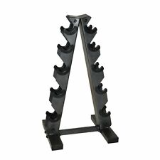 A-FRAME Multiple DUMBBELL STORAGE RACK Weight Training Equipment Hand Fitness