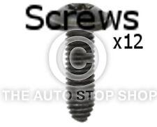 Screws Wings and Bumpers 6x20MM ZN Noir Peugeot 4008/508/Bipper etc 11280pe 12PK