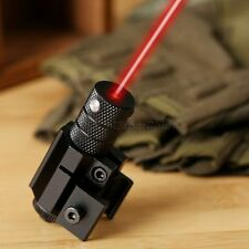 Red Beam Laser Sight Scope Weaver Picatinny Mount for Gun Rifle Pistol Hunting