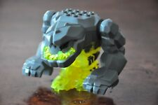 1x LEGO MINI FIGURE MINIFIG Power Miners Large Rock Monster Geolix Excellent