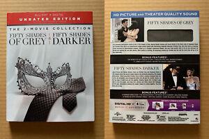 Fifty Shades of Grey / Darker DVD *NEW* Dakota Johnson Jamie Dornan