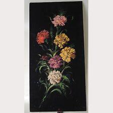 Artur Müller Wien 1970 Ölbild auf Stoff signiert angeschmutzt ca. 60 x 30 cm