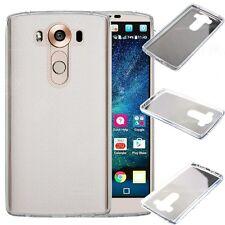 [Scratch Free] Ultra Slim Soft TPU Skin Case Cover For LG V10 - Crystal Clear