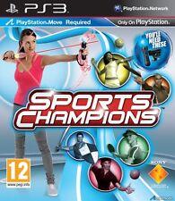 SPORTS CHAMPIONS PLAYSTATION MOVE GIOCO USATO PER PLAYSTATION 3 PS3
