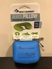 Sea to Summit Aeros Pillow Premium Traveller Navy Blue