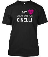 My Heart Beats For Cinelli Hanes Tagless Tee T-Shirt