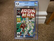 Iron Man 221 cgc 9.8 3rd appearance of Ghost Ant Man Wasp movie 1st series MINT