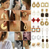 Fashion Statement Metal Geometric Earrings For Women Boho Dangle Modern Jewelry