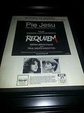 Sarah Brightman Requiem Rare Original Promo Poster Ad Framed!