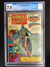 CGC 7.0 World's Finest #165 Batman Superman FREE SHIPPING