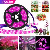 Full Spectrum LED Grow Light Plant Veg Growing Lamp for Indoor Plant Hydroponics