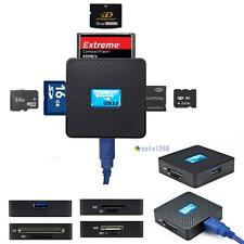 All in 1 USB 3.0 Multi Memory Card Reader High Speed Micro SD TF CF XD M2 MS MTC