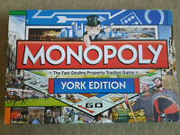 MONOPOLY YORK Edition Board Game 2010 Hasbro 100% Complete EXCELLENT CONDITION