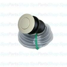 "Whirlpool Bath Tub Pump Biscuit Jet Air Button & Tubing Kit 1-3/8"" 951590-640"