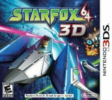 StarFox 64 3D Cartridge Only (Nintendo 3DS, 2011)