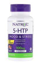 NATROL, 5-HTP, FAST DISSOLVE (SCHNELL LÖSLICH), GESCHMACK WILDBEEREN 100 mg