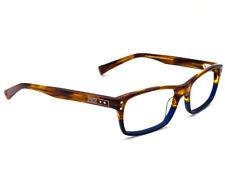 Nike Óculos 7201 217 Azul Claro Brown Fade Armação Retangular 53    17 145 62d7570001