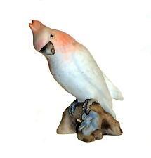 Royal Dux Papagei / Kakadu Bisquitporzellan 16,5 cm   (# 5482)
