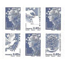 CARNET MARIANNE BLEUE DE BEAUJARD COMPOSITION VARIABLE N°1517