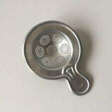Vintage Aluminum Round Tea Strainer