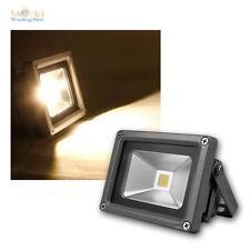 10W LED Flutlicht Fluter Strahler warm-weiß IP65 230V Hoflicht Hofleuchte