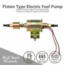 12V Universal Electric Fuel Pump Inline Diesel Gas 5-9 PSI Low Pressure E8012S